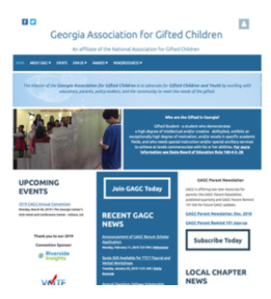 Georgia Association of Gifted Children