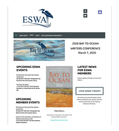 Eastern Shore Writers Association